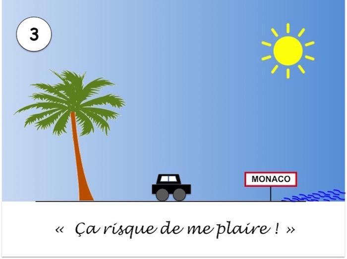 Arrivée à Monaco sous le soleil