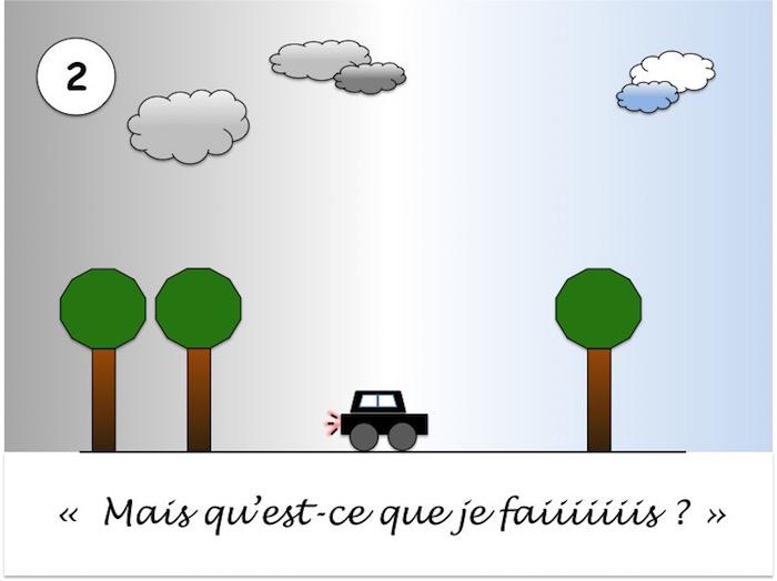 Route de Paris vers Monaco