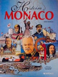 """Couverture BD """"Histoire de Monaco"""" (M. Bourgne)"""