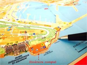 Itinéraire complet Chemin des Pêcheurs Monaco