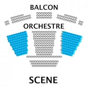Plan salle Théâtre des Variétés de Monaco
