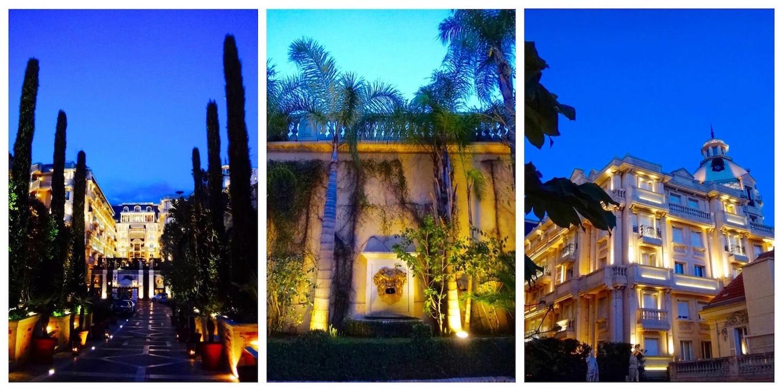 Hôtel Métropole Monaco entrée extérieure