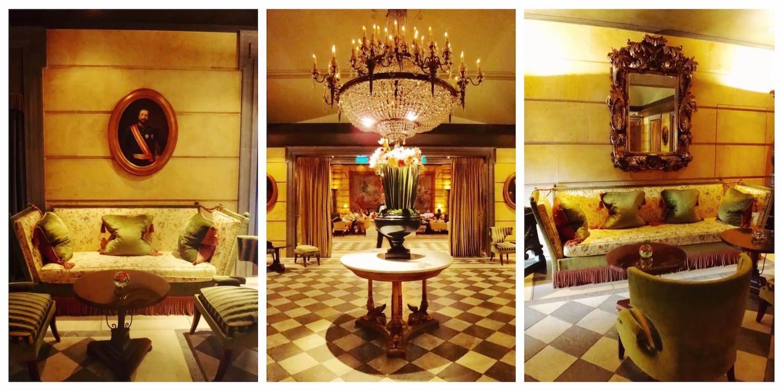 Hôtel Métropole Monaco Lobby
