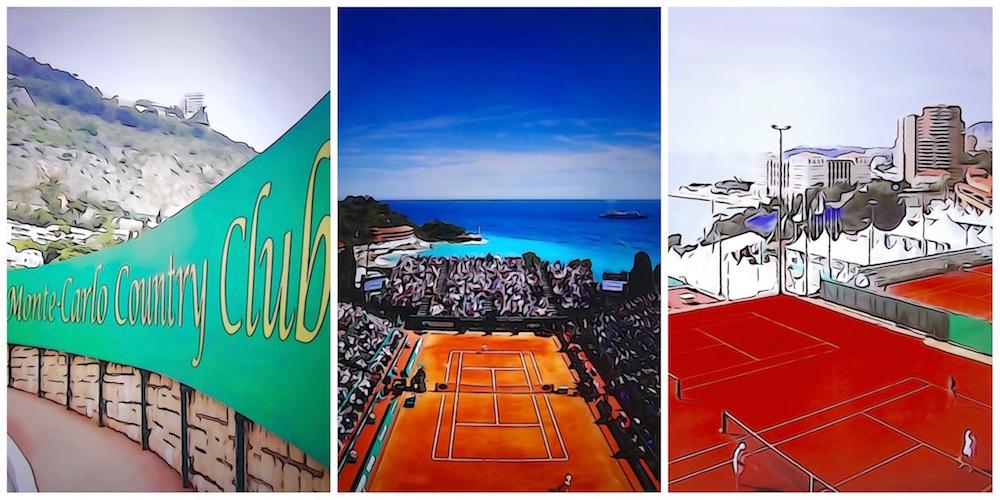 Monte-Carlo Rolex Masters de tennis au Monte-Carlo Country Club