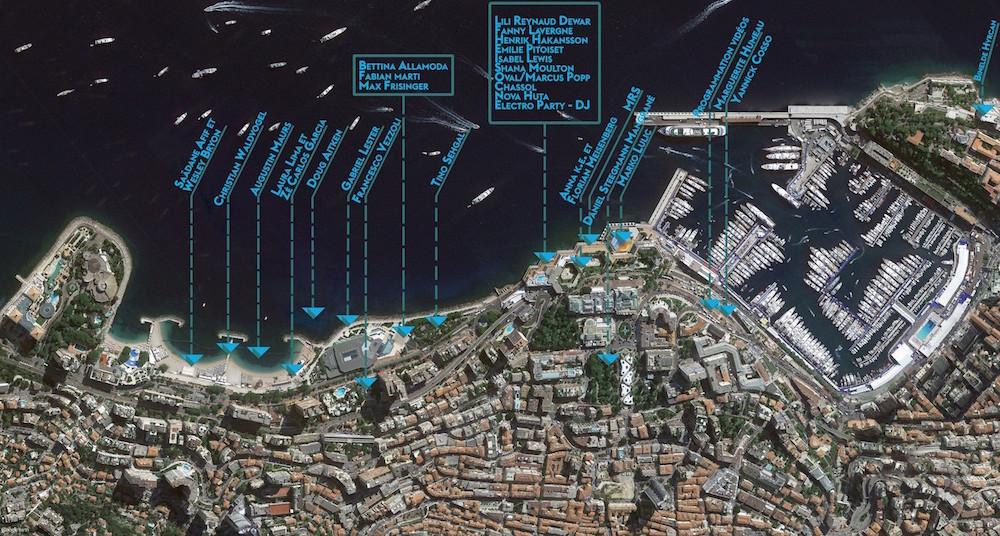 Parcours Nuit Blanche Monaco 2016