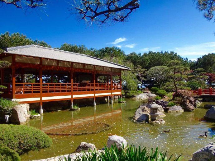"""La """"Terrasse Couverte"""" du Jardin Japonais de Monaco"""