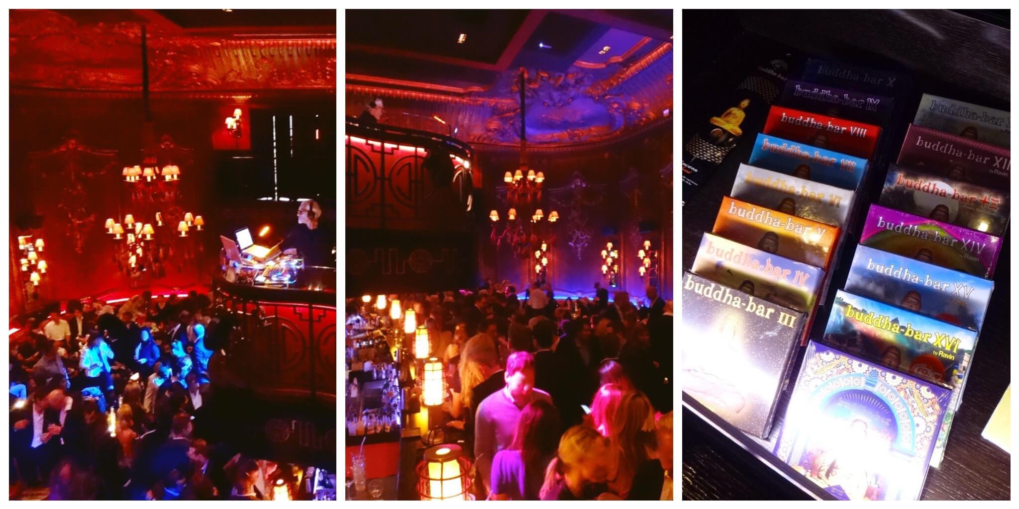 """Espace Lounge Bar, vibrant au son de """"DJ Papa"""" qui surplombe la salle."""
