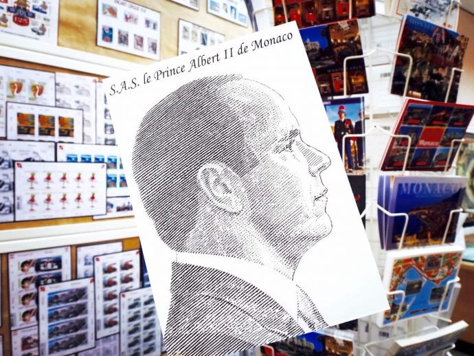 Portrait Profil du Prince Albert II de Monaco par Gueorgui Chichkine
