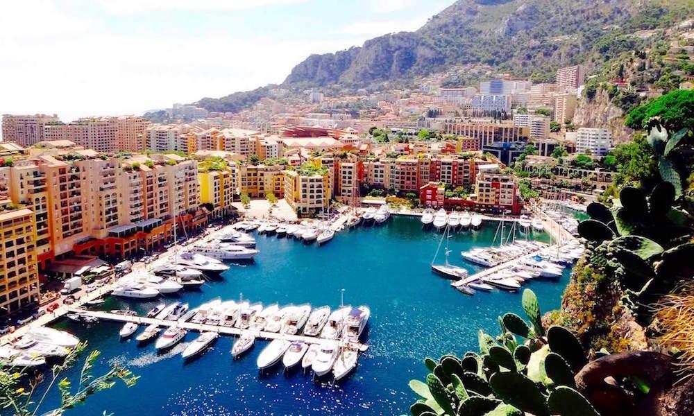 Port de Fontvieille Monaco