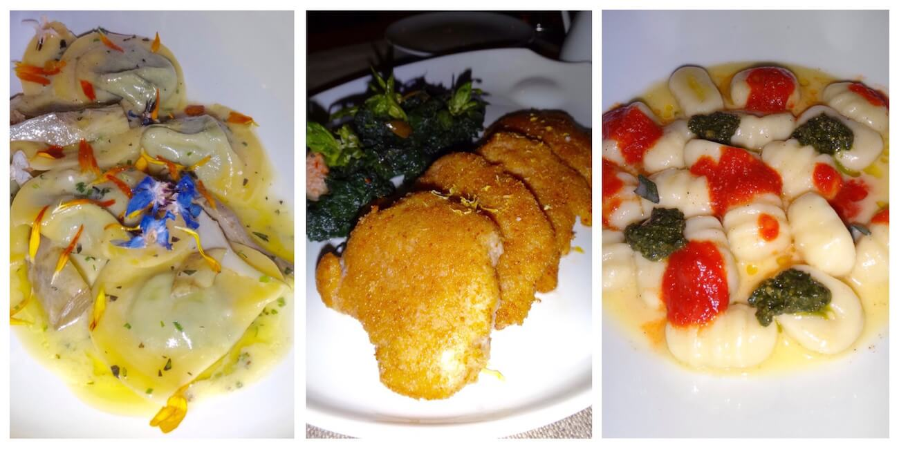 Restaurant Alain Ducasse La Trattoria My Monaco - Plats