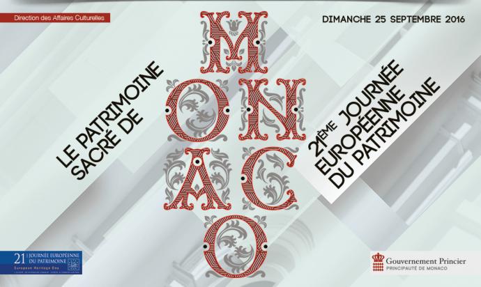 Journée du Patrimoine Monaco 2016