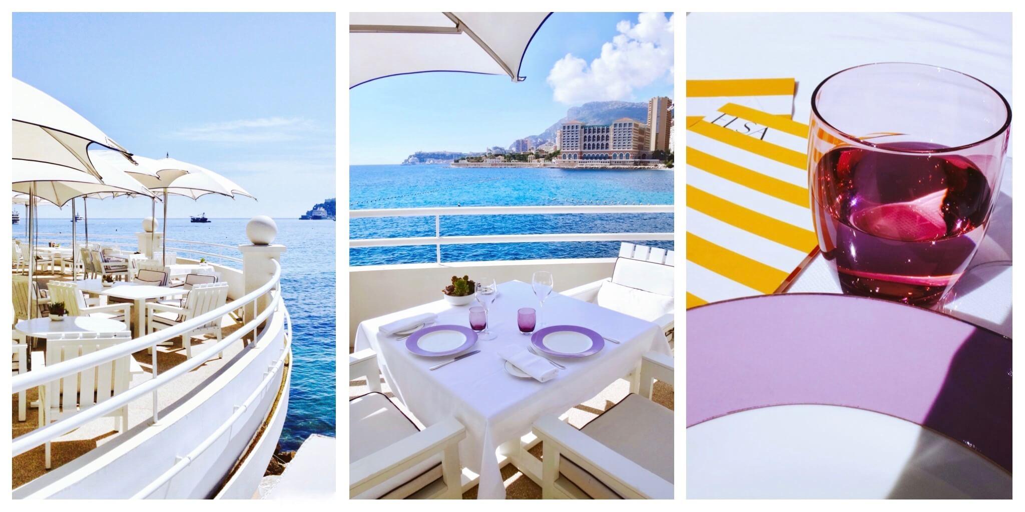 Quel plus beau décor que cette terrasse pour un déjeuner ?