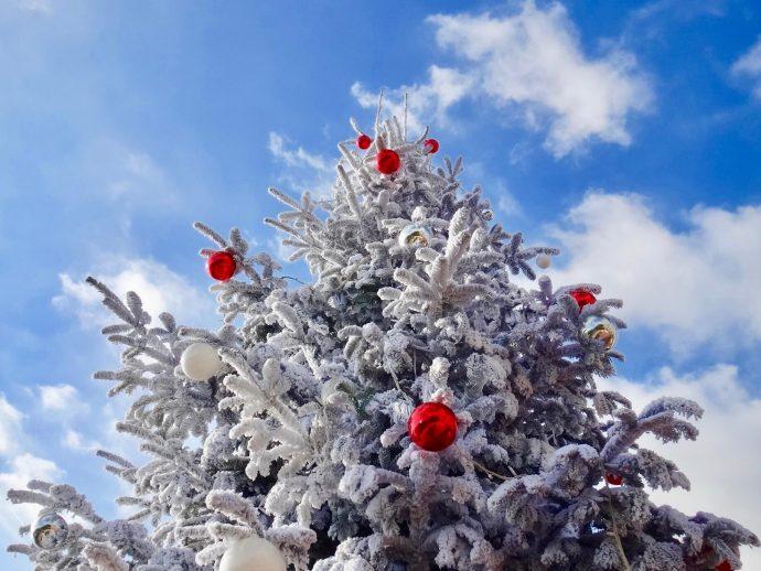 Sapin de Noël Monaco