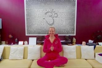 Anette Shine, professeur de Yoga au Monte-Carlo Bay Hôtel Monaco