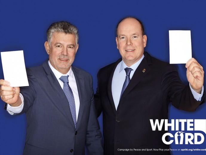 Opération #WhiteCard SAS Prince Albert II Joël Bouzou