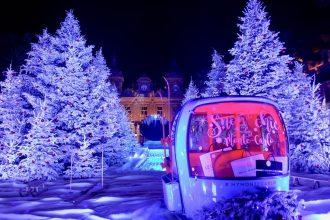 Noël Place du Casino de Monte-carlo
