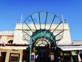 Entrée du Café de Paris,