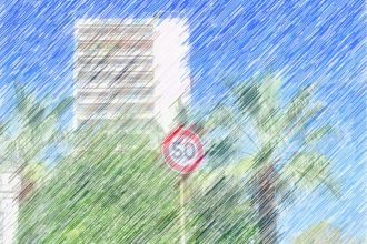 vitesse 50 kms/h